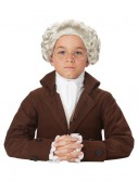 Child Colonial Peruke Wig, halloween costume (Child Colonial Peruke Wig)