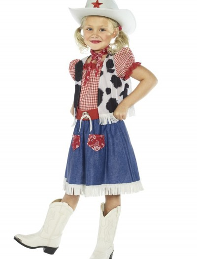 Child Cowgirl Sweetie Costume, halloween costume (Child Cowgirl Sweetie Costume)
