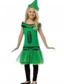 Child Crayola Glitz Emerald Dress, halloween costume (Child Crayola Glitz Emerald Dress)