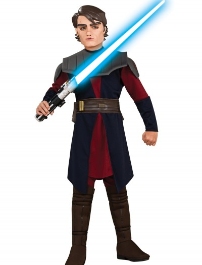 Child Deluxe Anakin Skywalker Clone Wars Costume, halloween costume (Child Deluxe Anakin Skywalker Clone Wars Costume)