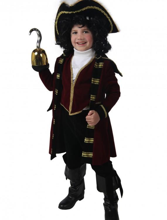 Child Deluxe Captain Hook Costume, halloween costume (Child Deluxe Captain Hook Costume)