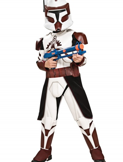 Child Deluxe Commander Fox, halloween costume (Child Deluxe Commander Fox)