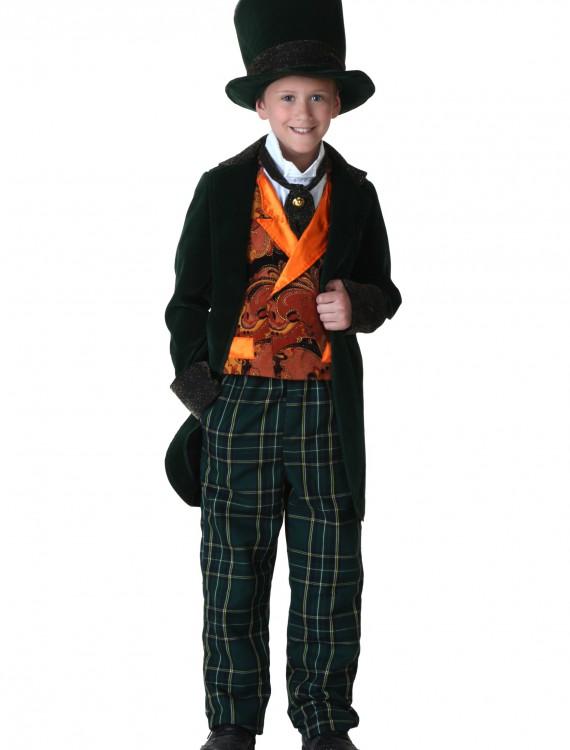 Child Deluxe Mad Hatter Costume, halloween costume (Child Deluxe Mad Hatter Costume)