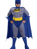 Child Deluxe Muscle Chest Batman, halloween costume (Child Deluxe Muscle Chest Batman)