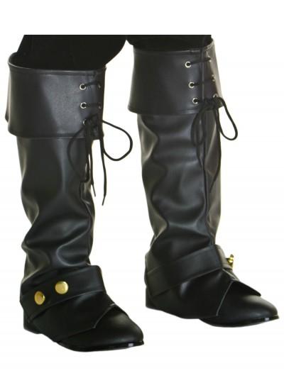 Child Deluxe Pirate Boot Tops, halloween costume (Child Deluxe Pirate Boot Tops)