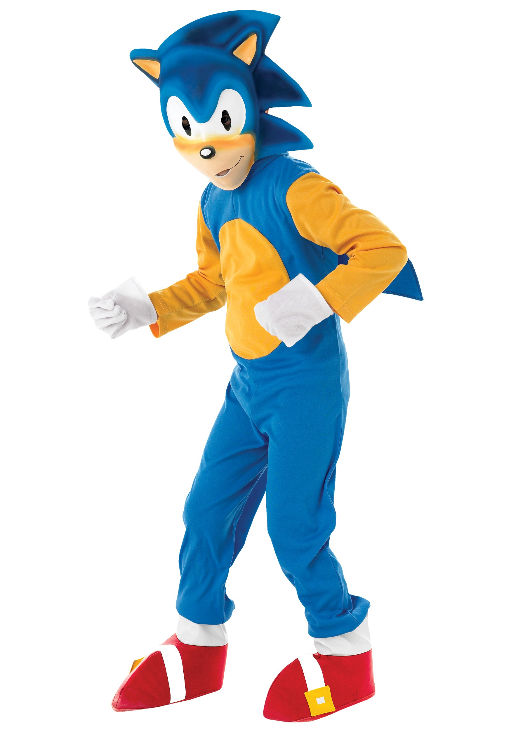 Child Deluxe Sonic Costume  sc 1 st  Halloween Costumes & Child Deluxe Sonic Costume - Halloween Costumes