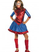 Child Deluxe Spider-Girl Costume, halloween costume (Child Deluxe Spider-Girl Costume)