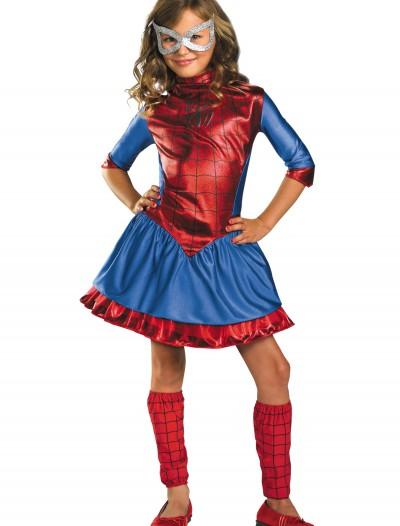 Child Deluxe Spider-Girl Costume, halloween costume (Child Deluxe Spider-Girl Costume)