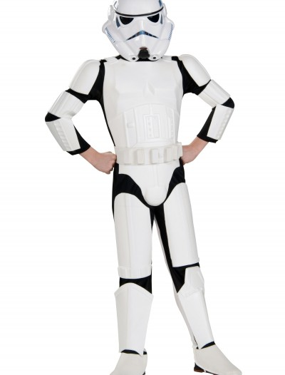 Child Deluxe Stormtrooper Costume, halloween costume (Child Deluxe Stormtrooper Costume)