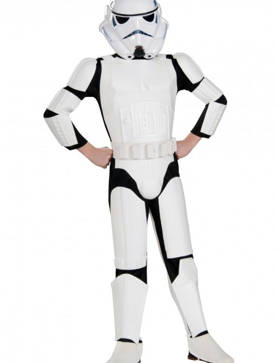 Child Deluxe Stormtrooper Costume, halloween costume (Child Deluxe Stormtrooper Costume)