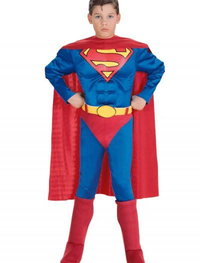 Child Deluxe Superman Costume, halloween costume (Child Deluxe Superman Costume)