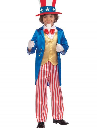 Child Deluxe Uncle Sam Costume, halloween costume (Child Deluxe Uncle Sam Costume)