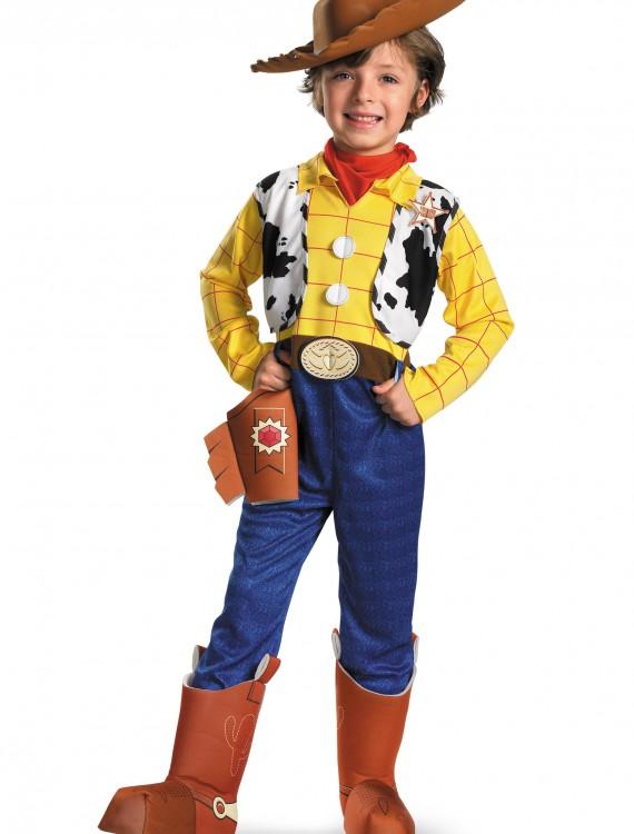 Child Deluxe Woody Costume, halloween costume (Child Deluxe Woody Costume)