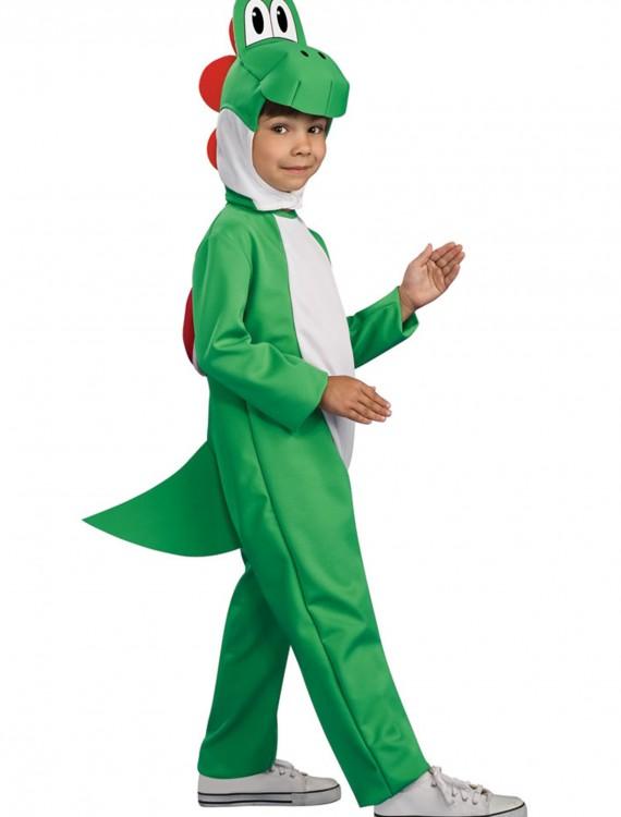 Child Deluxe Yoshi Costume, halloween costume (Child Deluxe Yoshi Costume)