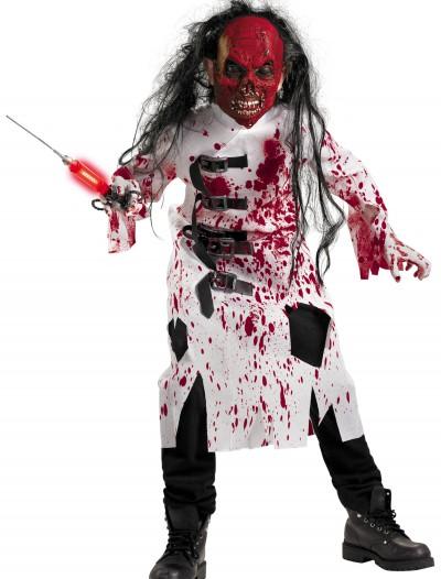 Child Demented Doctor Costume, halloween costume (Child Demented Doctor Costume)