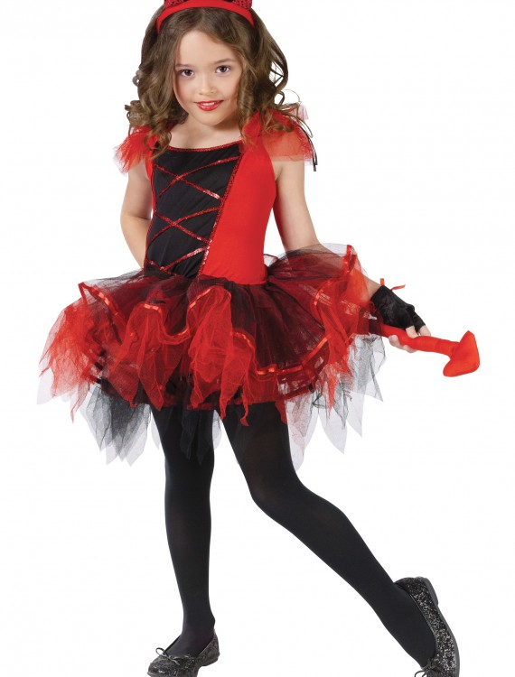 Child Devilina Costume, halloween costume (Child Devilina Costume)