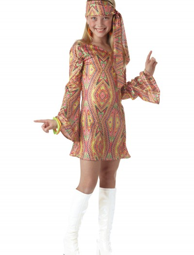 Child Disco Girl Costume, halloween costume (Child Disco Girl Costume)