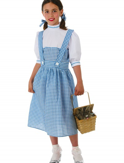 Child Kansas Girl Dress Costume, halloween costume (Child Kansas Girl Dress Costume)