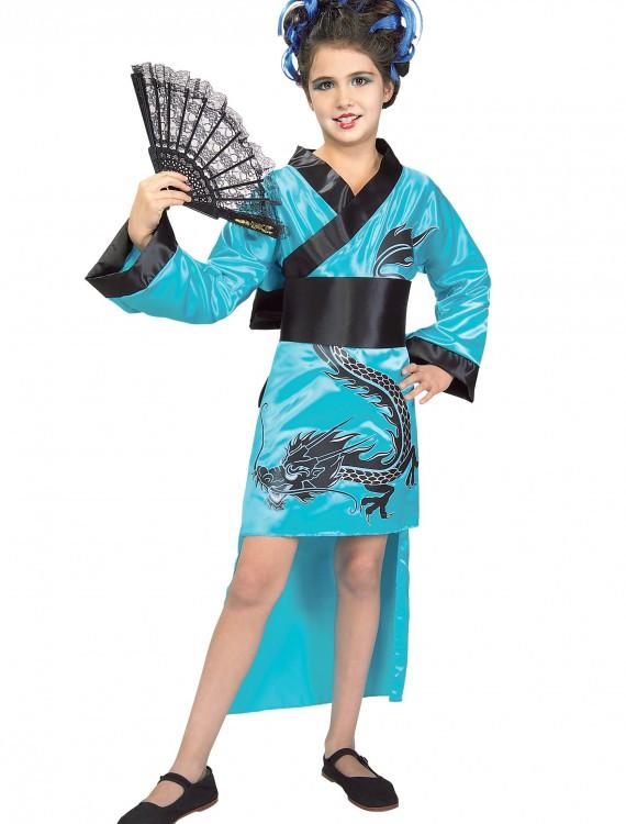 Child Dragon Lady Costume, halloween costume (Child Dragon Lady Costume)