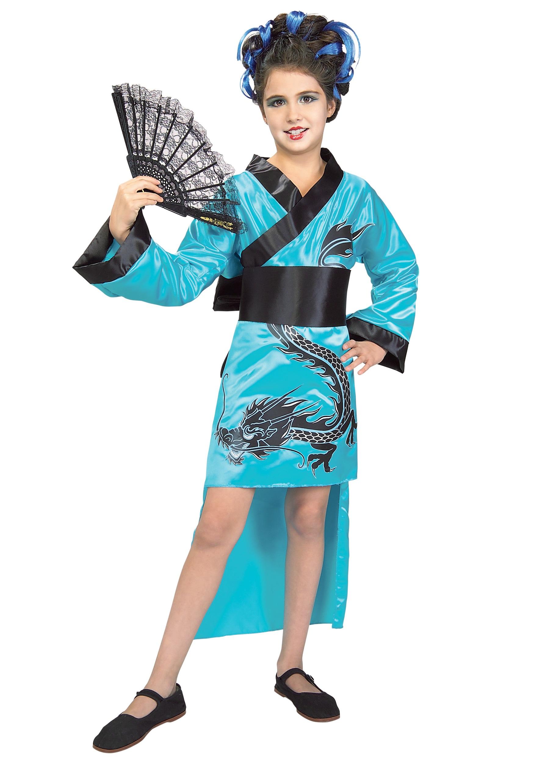 child dragon lady costume