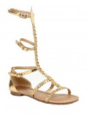 Child Egyptian Gold Sandals, halloween costume (Child Egyptian Gold Sandals)