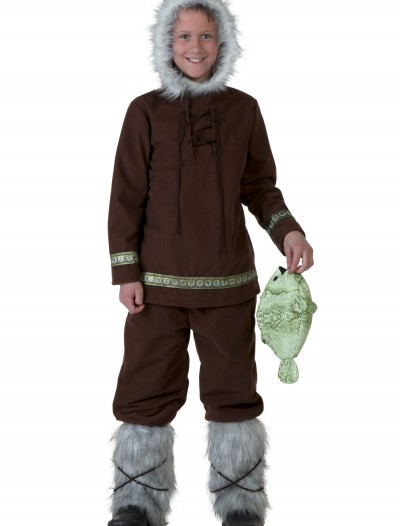 Child Eskimo Boy Costume, halloween costume (Child Eskimo Boy Costume)