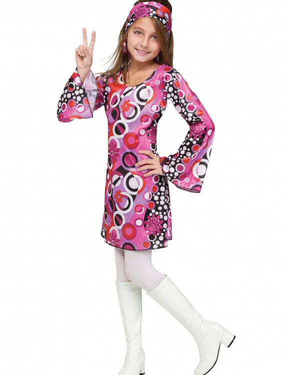 Child Feelin' Groovy Costume, halloween costume (Child Feelin' Groovy Costume)