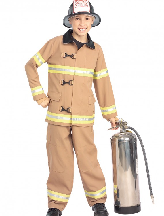 Child Fireman Costume, halloween costume (Child Fireman Costume)