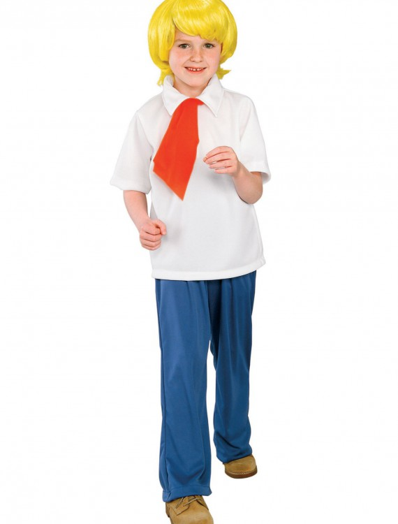 Child Fred Costume, halloween costume (Child Fred Costume)
