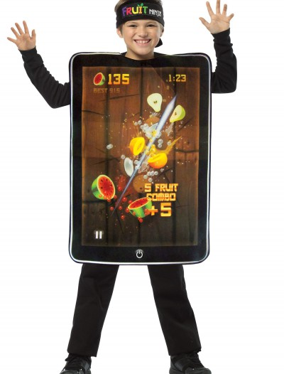 Child Fruit Ninja Screenshot Costume, halloween costume (Child Fruit Ninja Screenshot Costume)