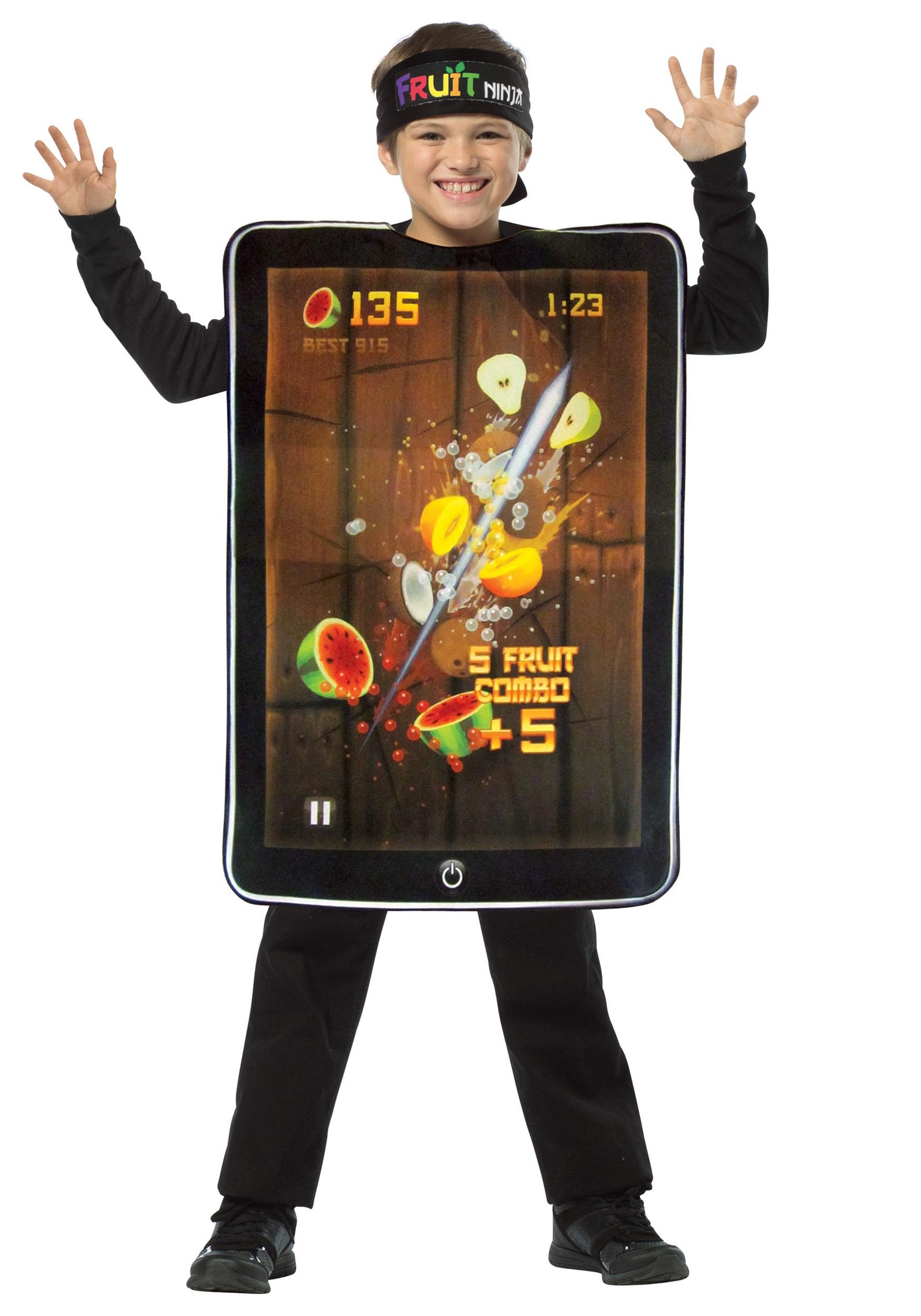 child fruit ninja screenshot costume - halloween costumes