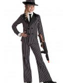 Child Gangster Girl Costume, halloween costume (Child Gangster Girl Costume)