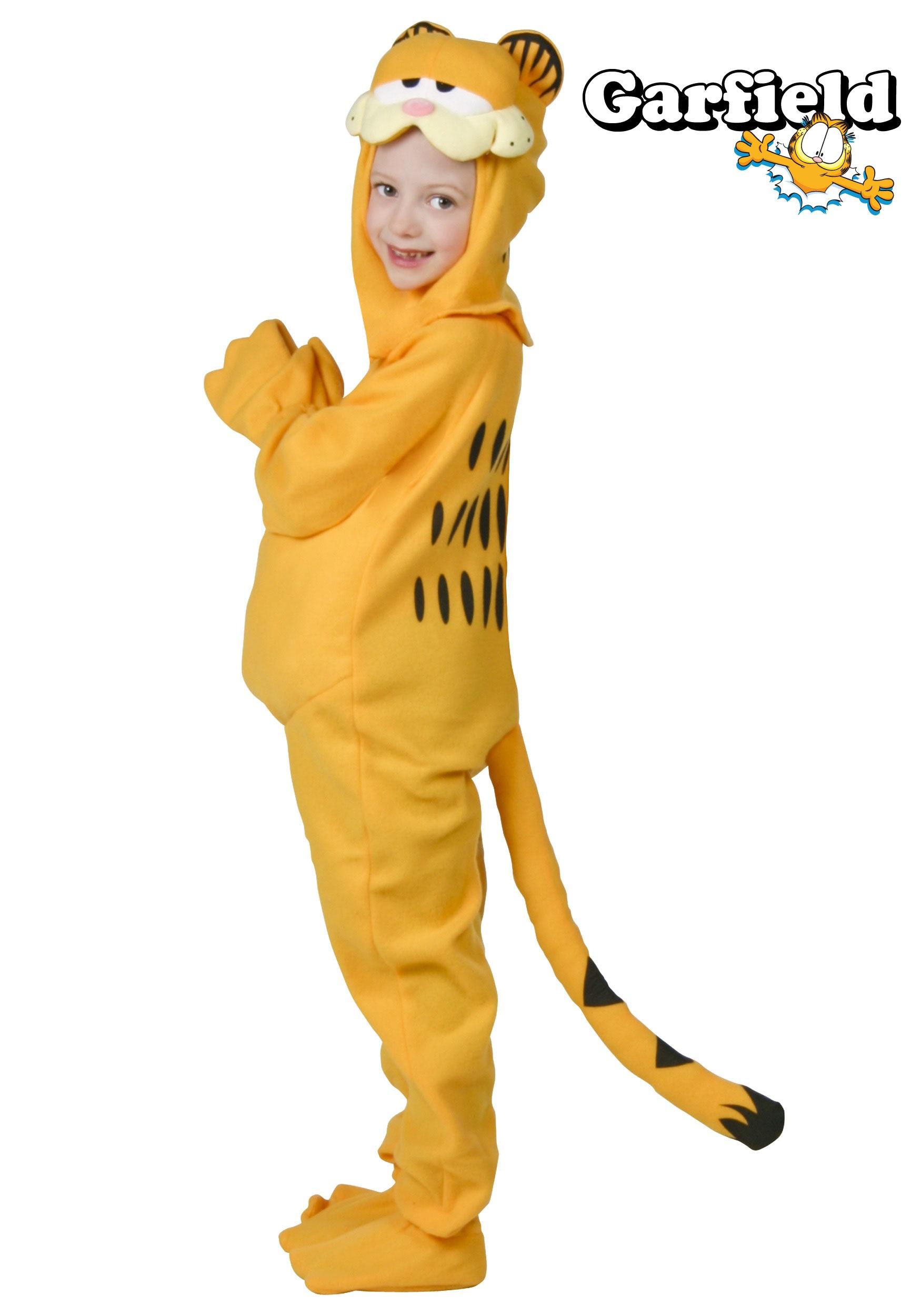 Child Garfield Costume - Halloween Costumes