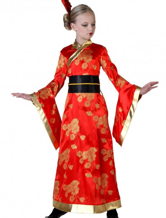 Child Geisha Costume, halloween costume (Child Geisha Costume)