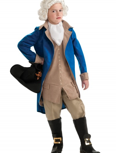 Child George Washington Costume, halloween costume (Child George Washington Costume)
