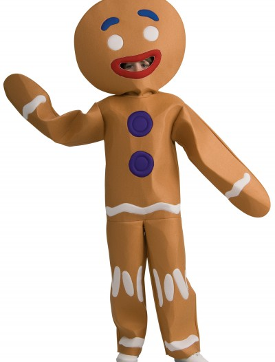 Child Gingerbread Man Costume, halloween costume (Child Gingerbread Man Costume)