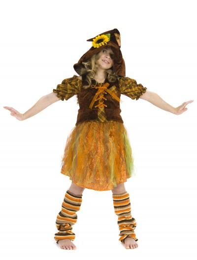 Child Girls Scarecrow Costume, halloween costume (Child Girls Scarecrow Costume)