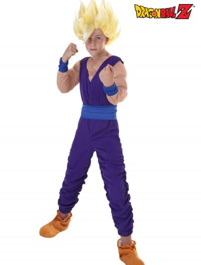Child Gohan Costume, halloween costume (Child Gohan Costume)