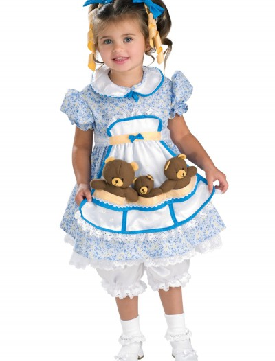 Child Goldilocks Costume, halloween costume (Child Goldilocks Costume)