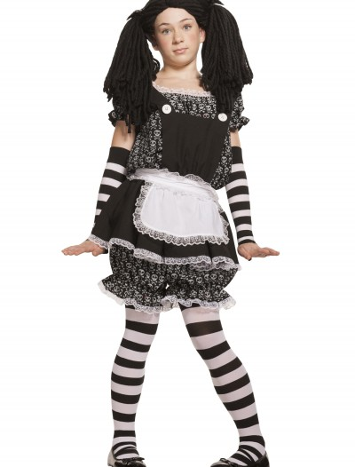 Child Gothic Dolly Costume, halloween costume (Child Gothic Dolly Costume)