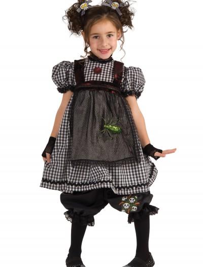 Child Gothic Rag Doll Costume, halloween costume (Child Gothic Rag Doll Costume)
