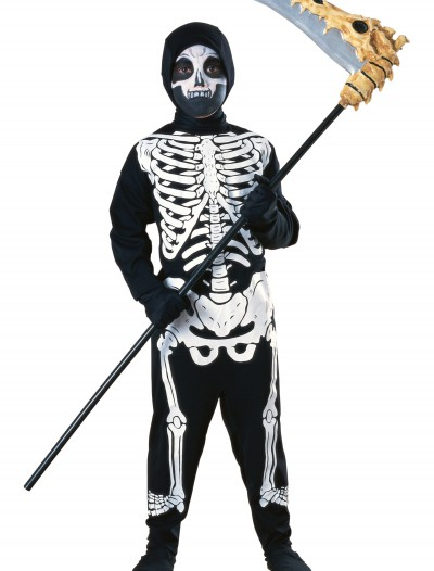 Child Graveyard Skeleton Costume, halloween costume (Child Graveyard Skeleton Costume)