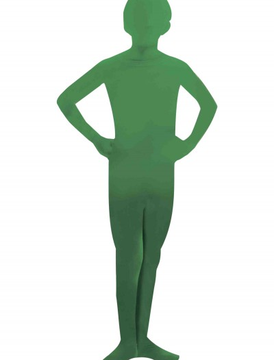 Child Green Man Skin Suit, halloween costume (Child Green Man Skin Suit)