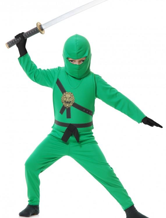 Child Green Ninja Costume, halloween costume (Child Green Ninja Costume)