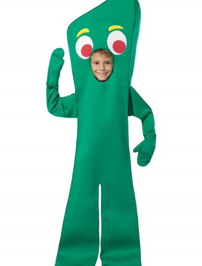 Child Gumby Costume, halloween costume (Child Gumby Costume)