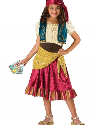 Child Gypsy Girl Costume, halloween costume (Child Gypsy Girl Costume)