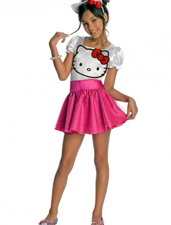 Child Hello Kitty Costume, halloween costume (Child Hello Kitty Costume)