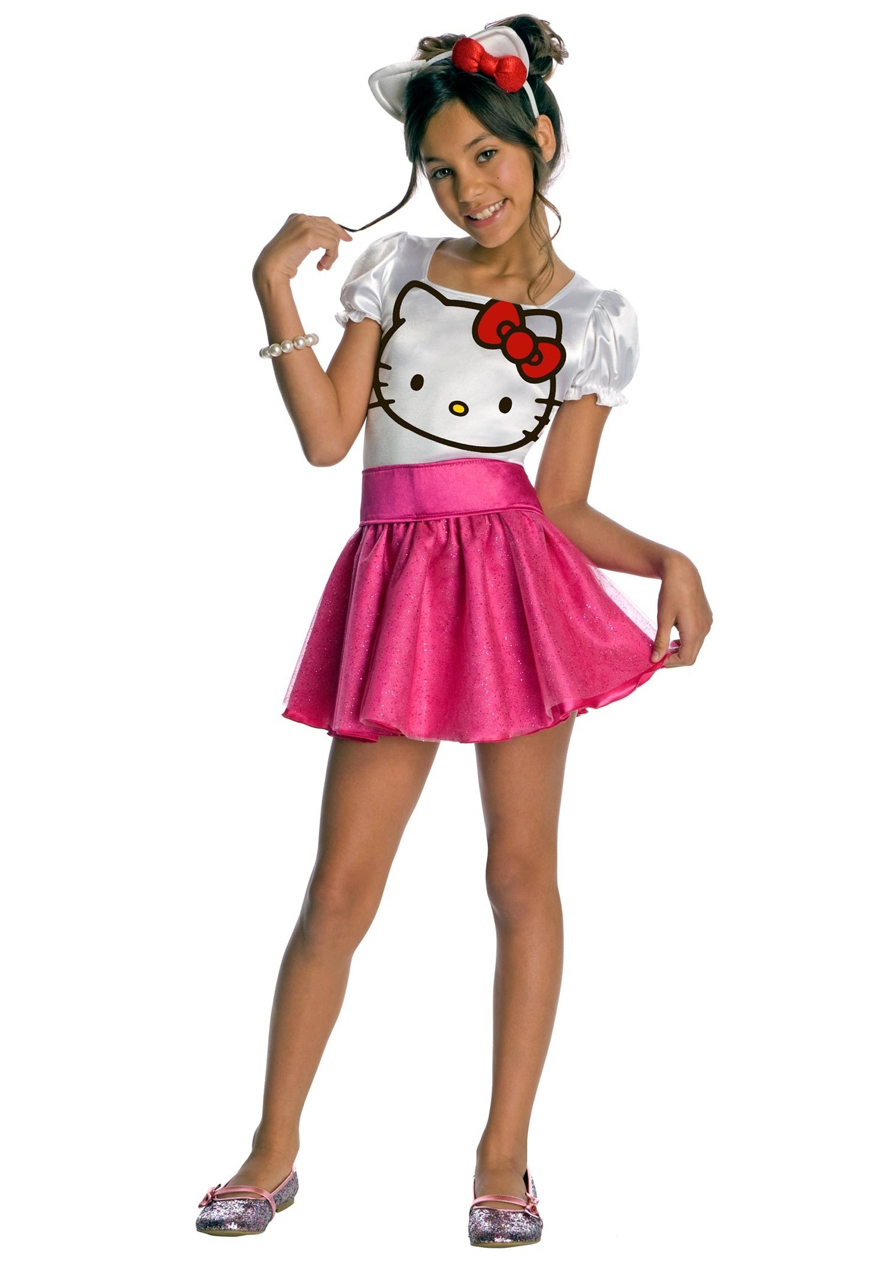 Child Hello Kitty Costume  sc 1 st  Halloween Costumes & Child Hello Kitty Costume - Halloween Costumes