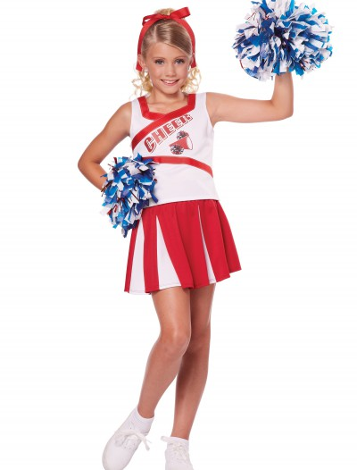 Child High School Cheerleader Costume, halloween costume (Child High School Cheerleader Costume)