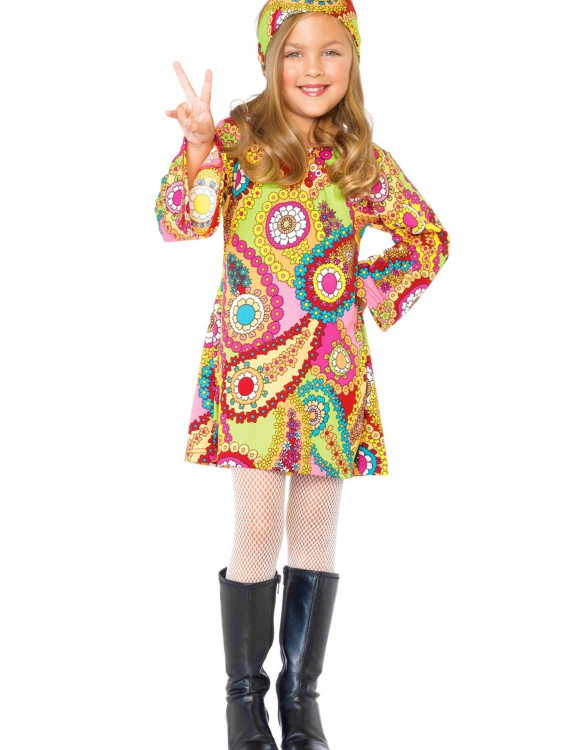 Child Hippie Chick Costume, halloween costume (Child Hippie Chick Costume)